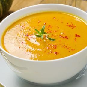 Supa Crema de cartofi cu chili