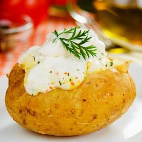 Cartof copt cu sos de...